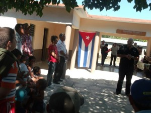 Esquivel García, dijo que esta otra tarea cumplida es fruto de la unidad del pueblo